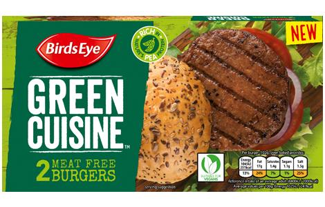 Birds Eye Green Cuisine Meat Free Burgers